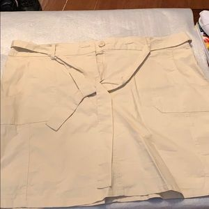 White Stag skort (shorts & skirt)  woman's size 16